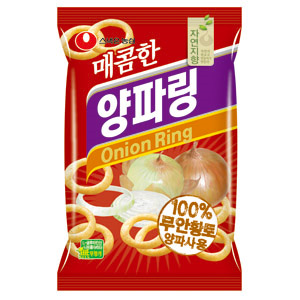 Nongshim Onion Rings Hot 매콤 양파 링 60g (10040)